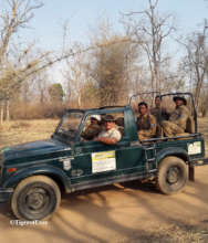 Tigers4Ever Anti-Poaching Patrollers going to work