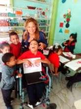 Jose David at School