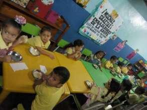 Breakfast at Pre-School Cacique Maturin