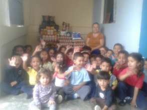"Children of the Pre-School ""Semillas del Manana"""