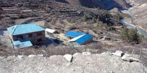Muchu Hostel and Karnali river