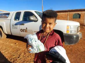 Nourishing 1100 children of the Wixarika Community