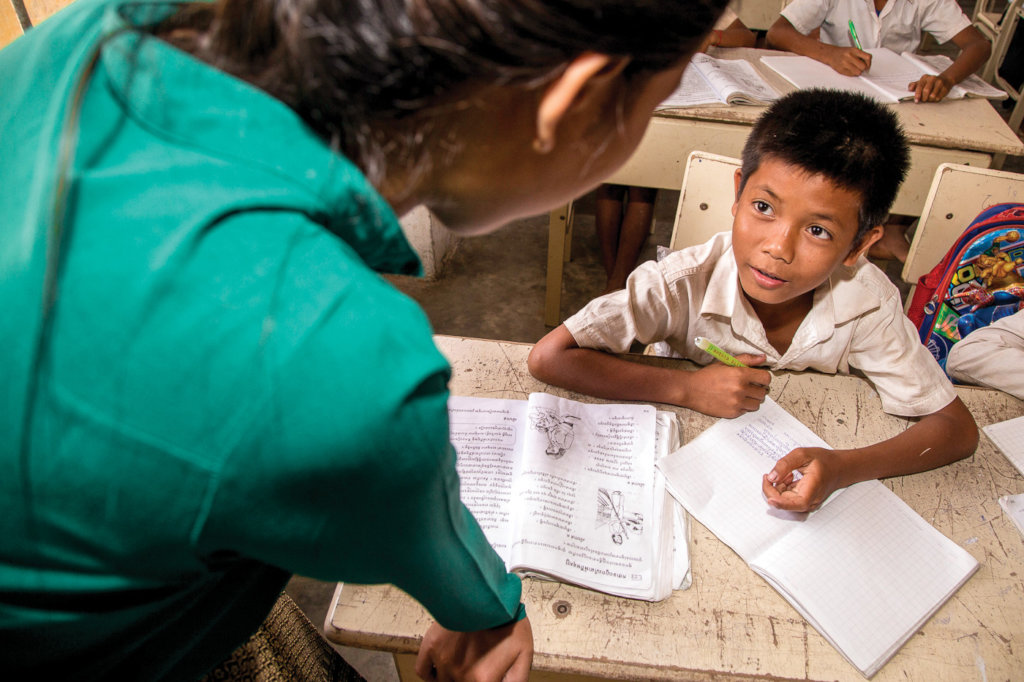 Enable 60 Cambodian children to go to school