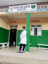 Dusabimana Ruth, Bunyoni Health Post, Rutsiro