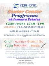 Jamaica Estates Senior Center Flyer