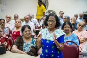Build a senior center for 500 South Asian seniors