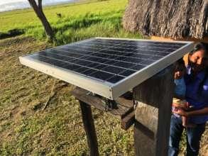 Solar Panels for Kamarata