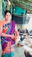 Minaz shows real aptitude for poultry farming