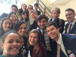 Youth Delegates at UN in Geneva