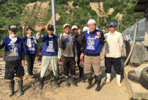 Volunteers who support activities