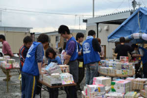 Activities (East Japan great earthquake disaster