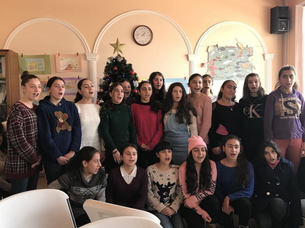 Empowering Orphan Girls of Gyumri