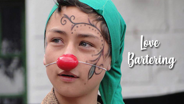 Love barter, education for 150 Colombian children