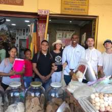 Awareness raising day in Portal de los dulces