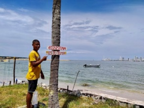 Eco signs in Punta Arena