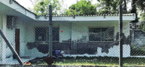 Punta Arena community center - BEFORE