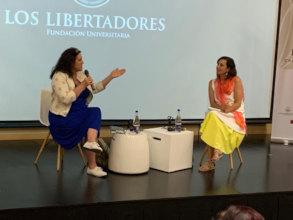 Conversatory at the Hay Festival