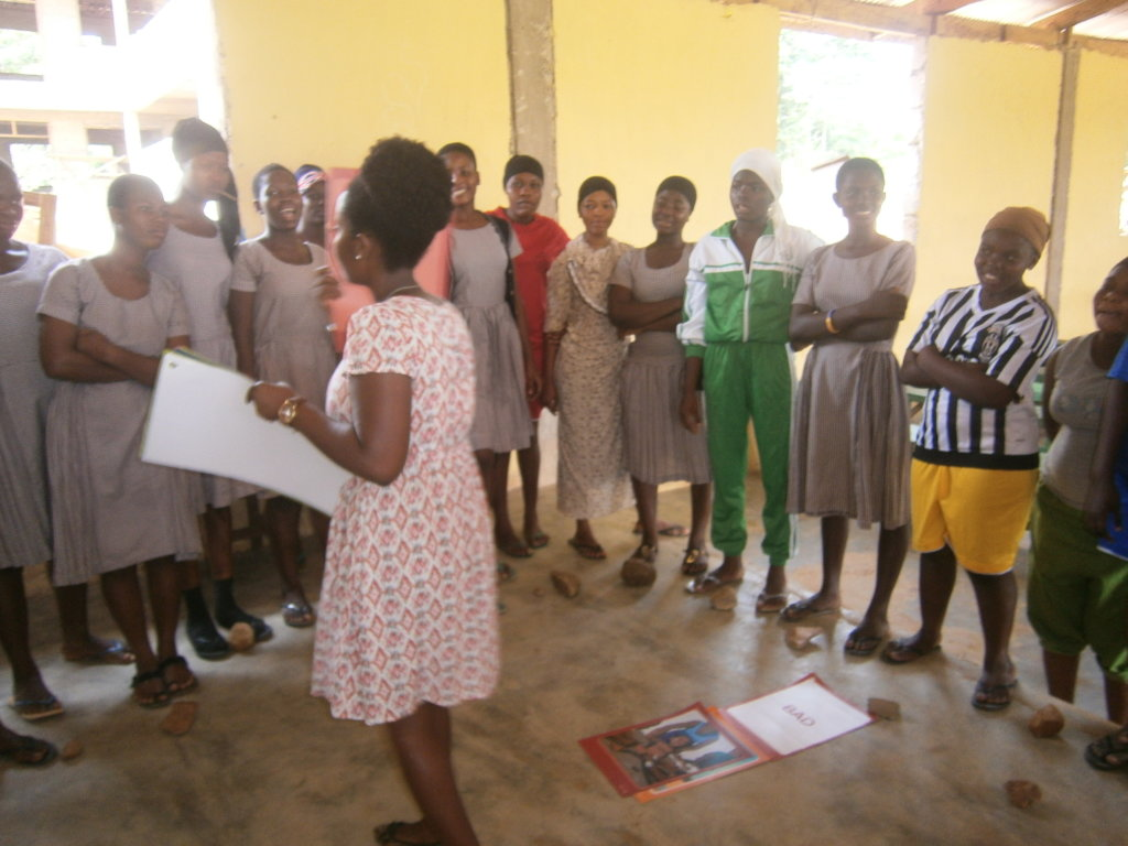 INCLUSIVE YOUTH DRIVE AT BINDURI IN GHANA