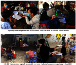 Teachers provided & correct Student's homework