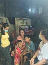 SCC teachers go to work at children renting home