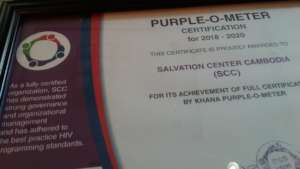 Award HIV/AIDS prevention KHANA