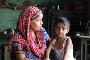 Ayaan with his mother, Khairun