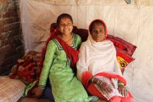 Zahida, supporter of her granddaughter's education