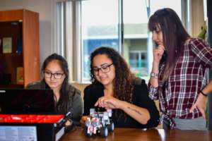 Robotics means collaboration and teamwork