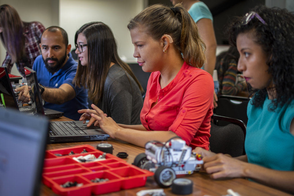 Robotics for young women with disabilities