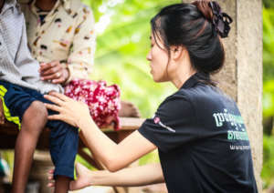 Therapy Services for 40 Cambodian Families