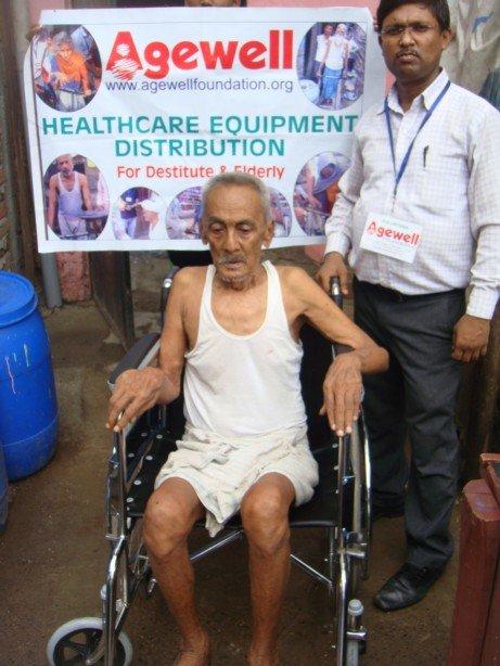 Healthcare Support to 450 Destitute Indian Elderly