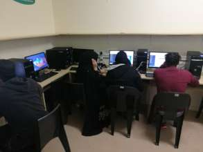 Coding Class students
