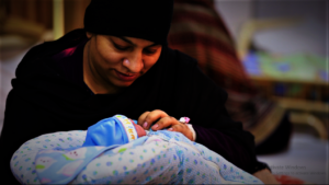 Our Patient with her Newborn