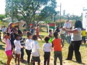 Playtime at the Community ECD Network!