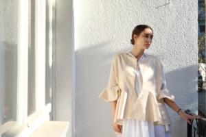 Maternal Dress and Light Summer Coat