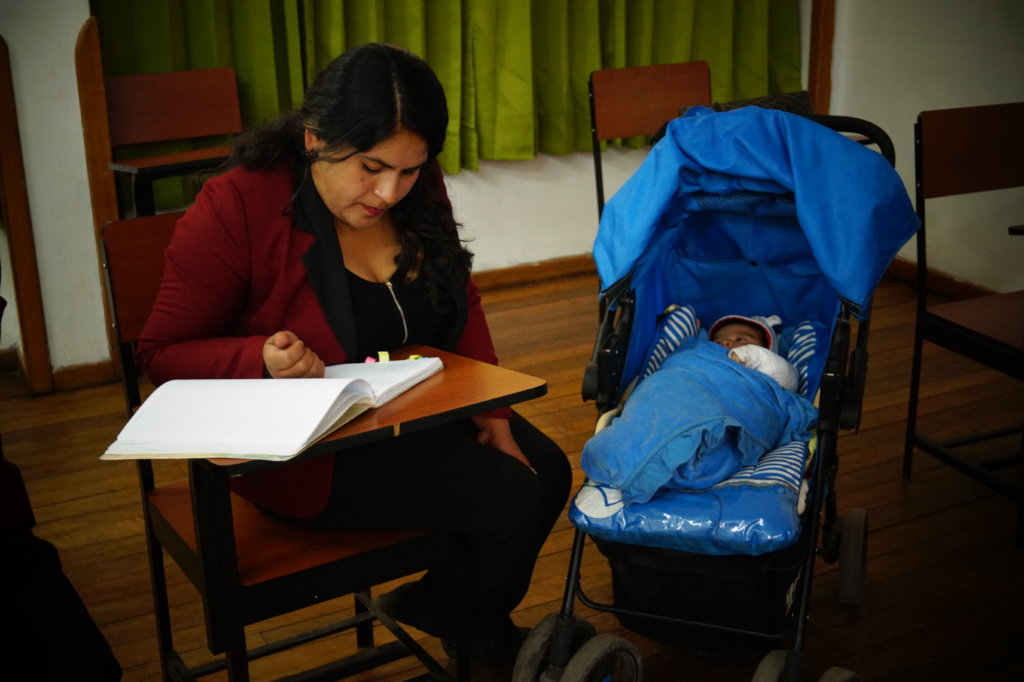 Professionalize 200 young mothers in Cusco Peru.