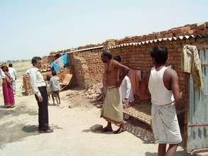 Life at the brick kilns