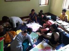 Activity Based Teacher Training for the Teachers