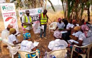 Focused Group Discussion at Kabri Community