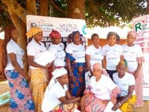 Home Health Volunteers (HHV) after FGD at Kara