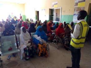 prenatal Education at PHC Bolari
