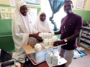 Prenatal Supplement distribution at PHC Kagarawal