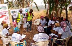 Home Health Volunteers at FGD