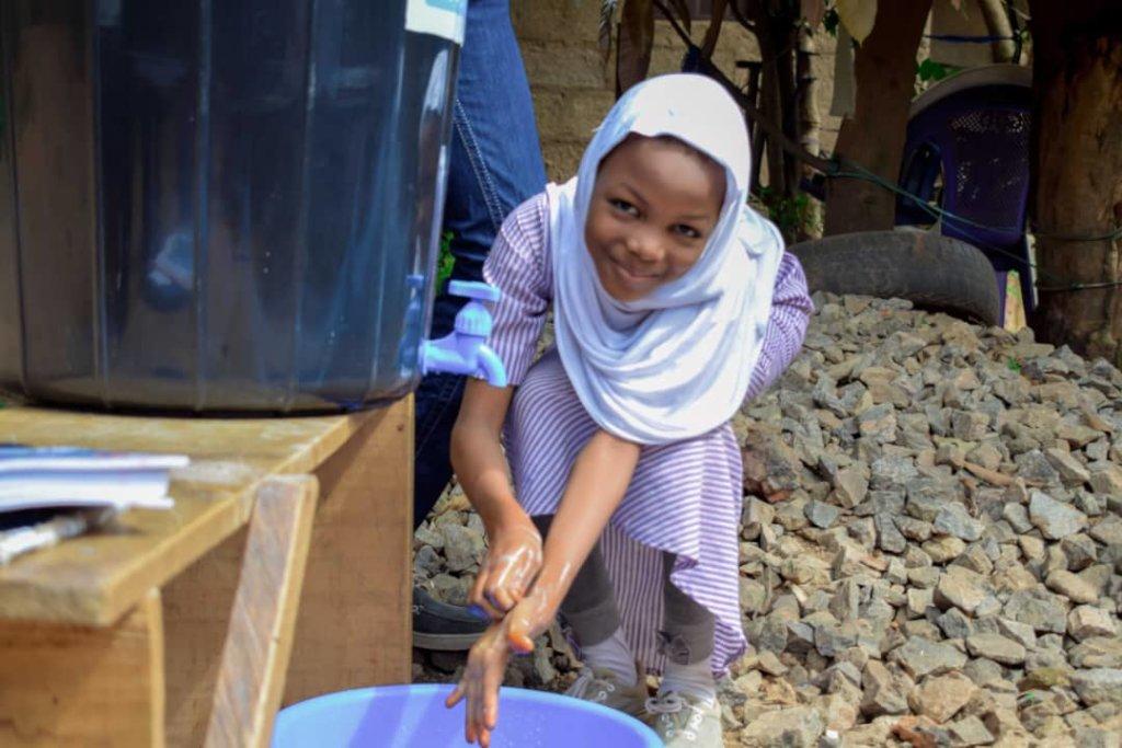 Handwashing & Health for 2000 Children in Nigeria