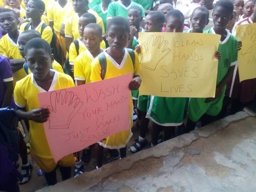 Handwash Hygiene for School Children in Nigeria