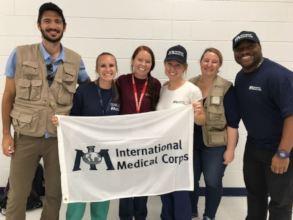 International Medical Corps team in North Carolina