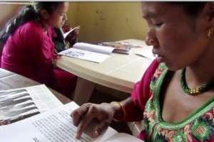 Anita Thami at Lapilang CLC