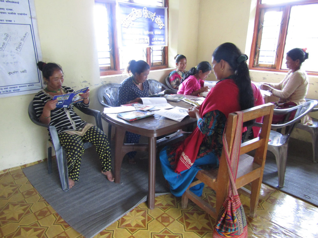 Community Learning Centers in Lamidanda, Nepal
