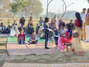 Republic Day celebration at Uday School Jaganpura