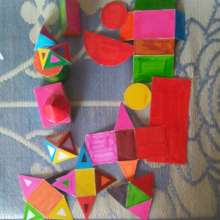 2D & 3D shapes made and understood by teachers